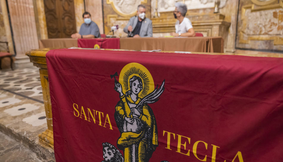 El nou domàs de Santa Tecla.