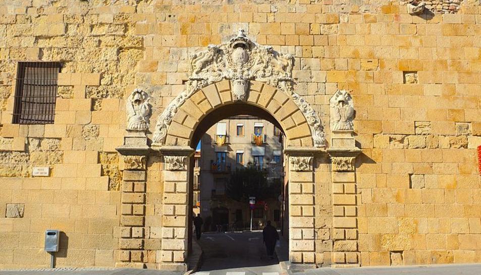 Imatge d'arxiu del Portal de Sant Antoni.