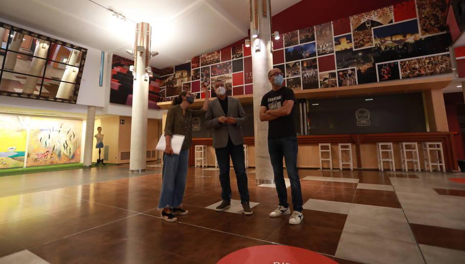 L'equipament reinicia aquesta nit mateix l'activitat cultural amb l'estrena del FITT.