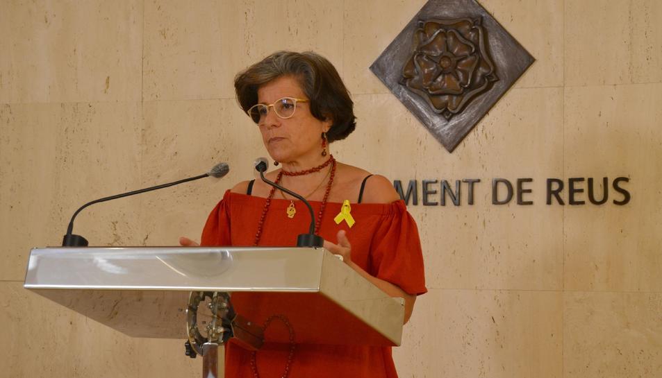 Montserrat Vilella, la Regidoria de Benestar Social.