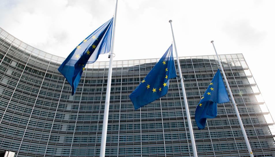Edifici Berlaymont de la Comissió Europea a Brussel·les.