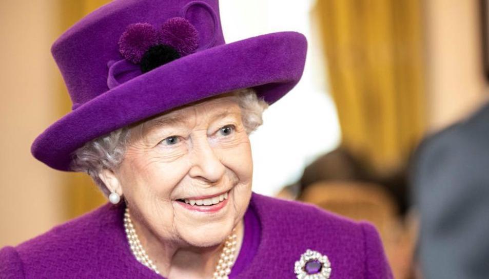 Imatge d'arxiu de la reina Isabel II.