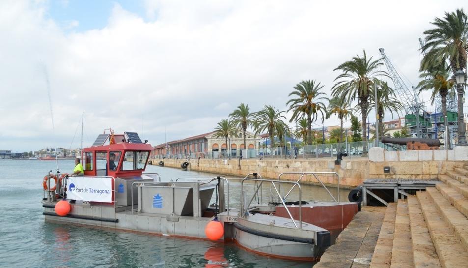 L'embarcació 'Pelícano' del Port de Tarragona.