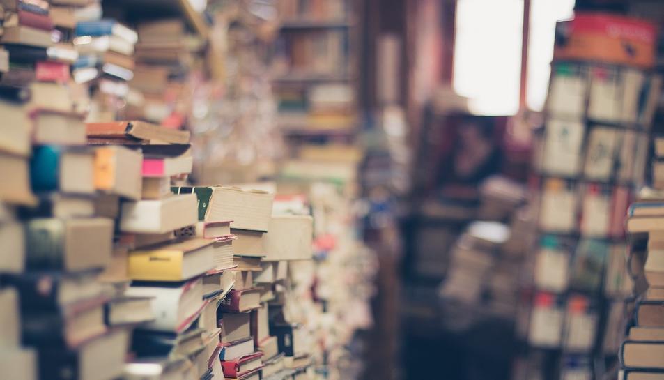 Imatge d'arxius de llibres.