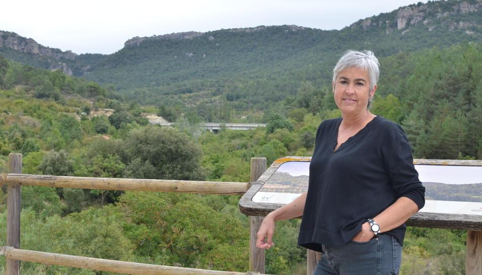 Lourdes Martorell en una imatge recent a la Febró.