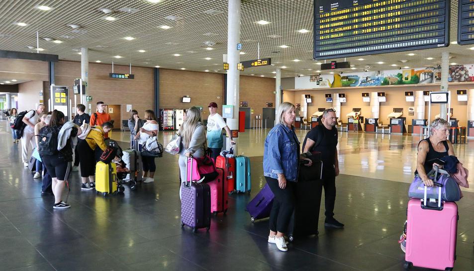 Imatge d'arxiu de l'aeroport de Reus abans de la pandèmia.