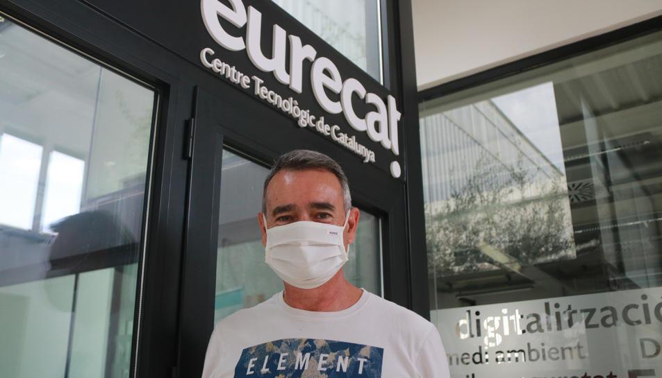 El director del Centre en Resiliència Climàtica, Carles Ibáñez.