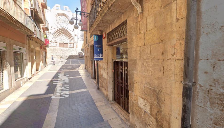Imatge de la seu del Patronat de Turisme de Tarragona, situada al carrer Major.