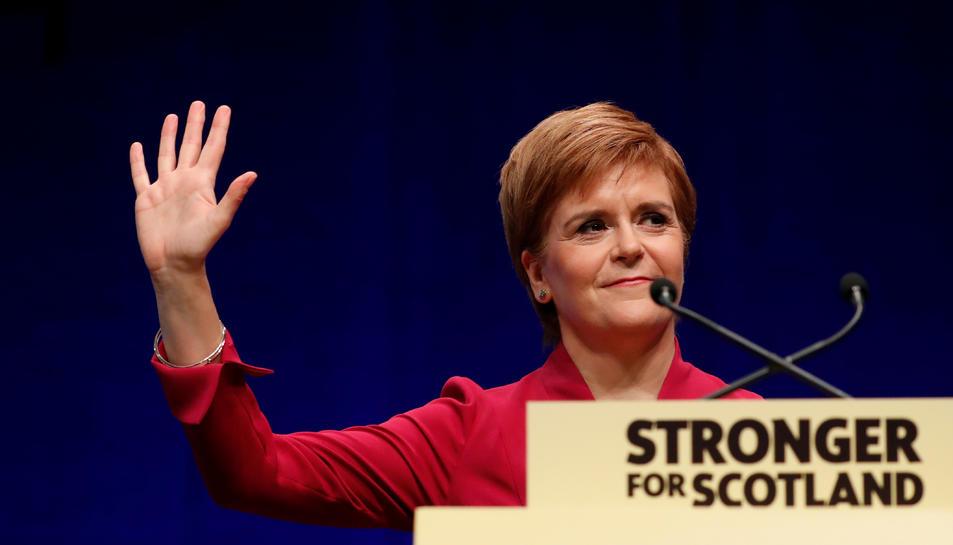 La primera ministra d'Escòcia, Nicola Sturgeon.