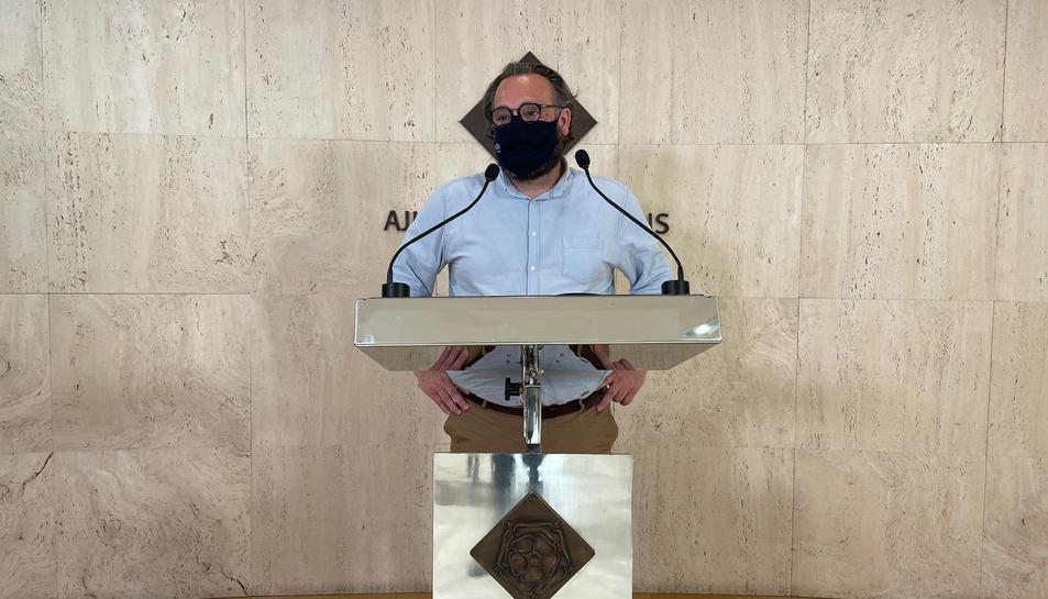 Daniel Recasens, regidor de Cultura i Política Lingüística.