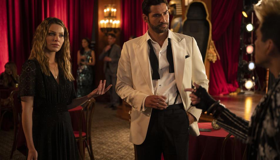 Imatge de l'última temporada de 'Lucifer' a Netflix.