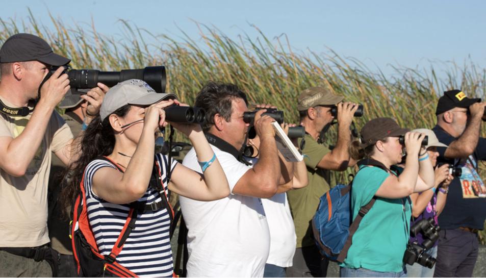 Participants del Delta Birding en una edició passada.