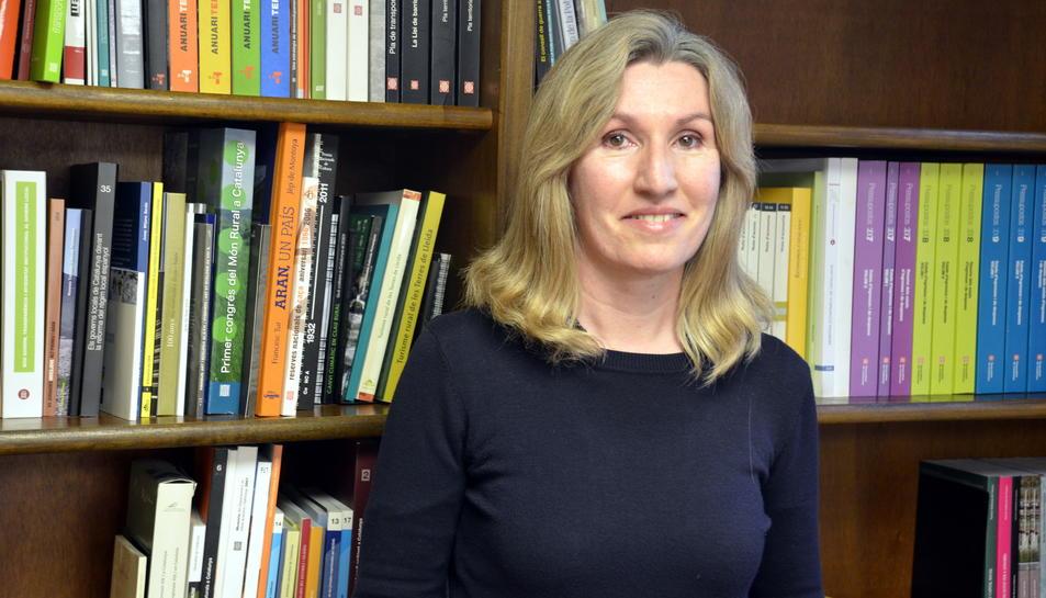 Rosa Amorós, delegada del Govern a l'Alt Pirineu i Aran.