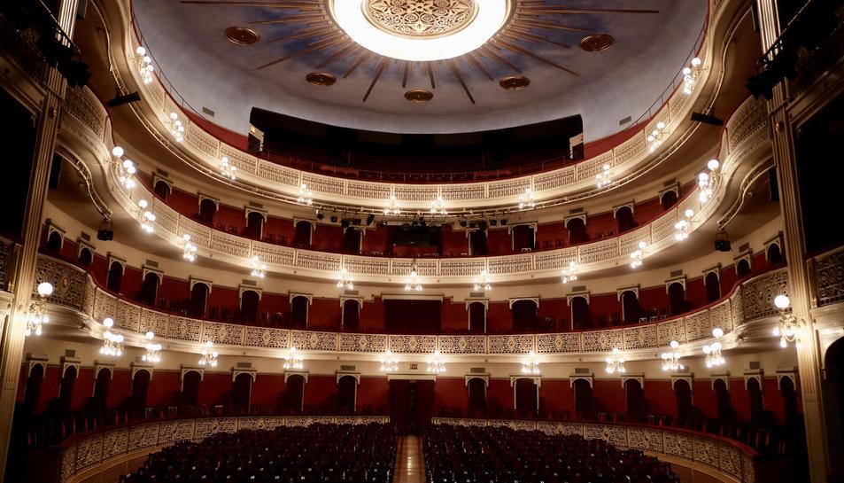 Imatge d'arxiu del Teatre Fortuny.