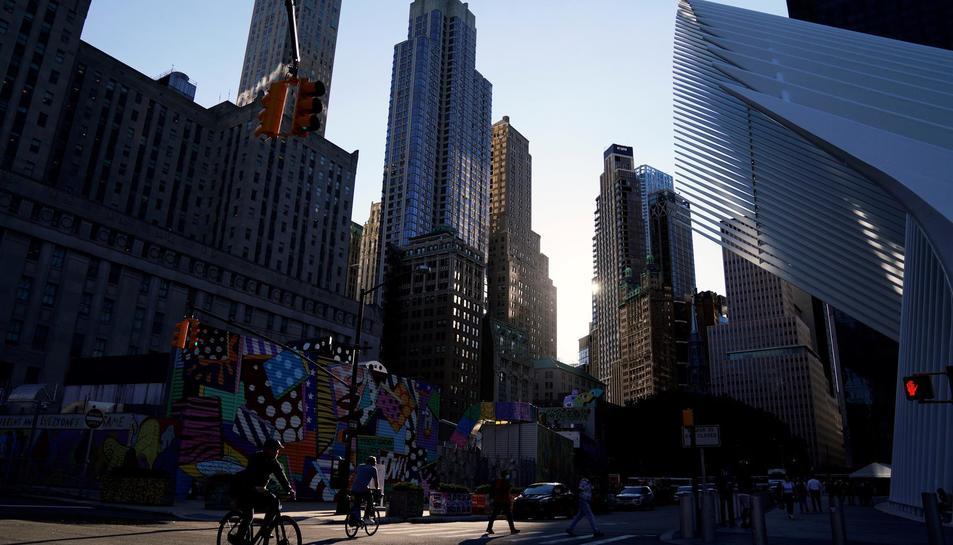 Els preparatius per l'acte del 20è aniversari dels atemptats de l'11-S.