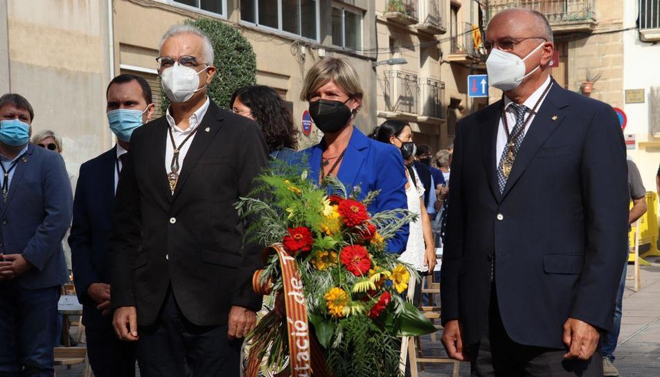 L'alcalde de la ciutat, Carles Pellicer i
