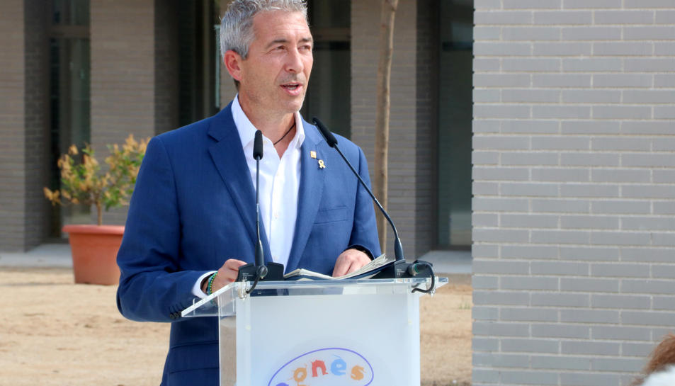 El conseller d'Educació Josep González-Cambray.