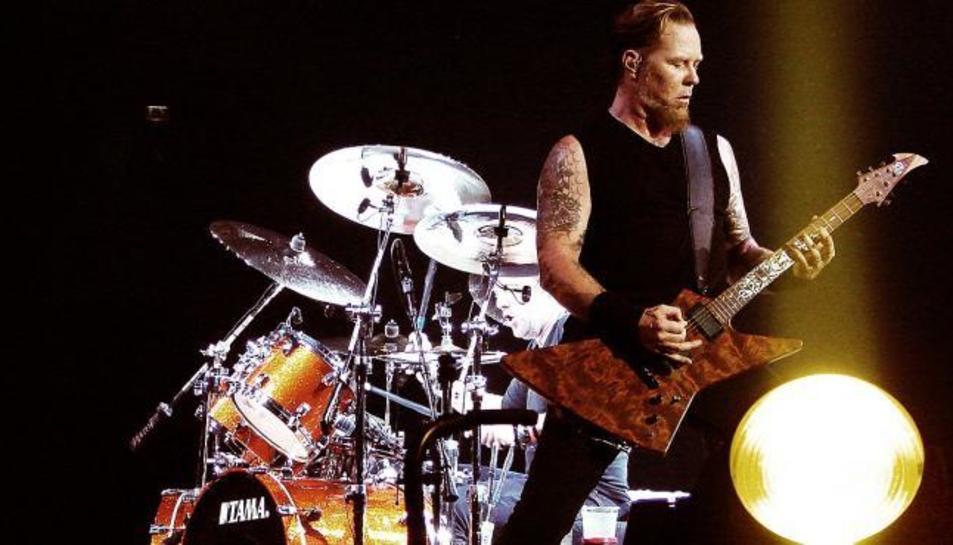 Imatge d'arxiu d'un concert de Metallica