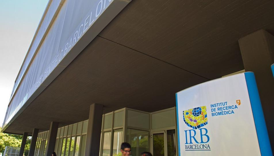 L'Institut de Recerca de Barcelona (IRB).