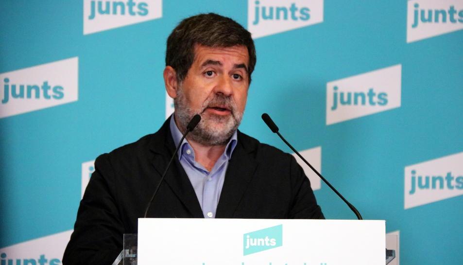 El secretari general de Junts, Jordi Sànchez.