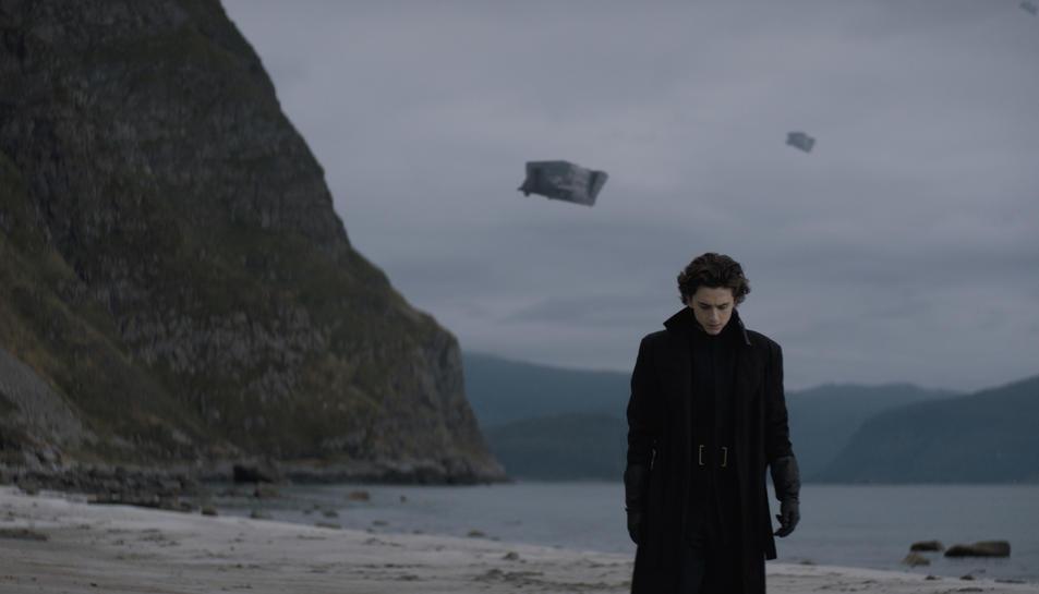 L'actor Timothée Chalamet a 'Dune'.