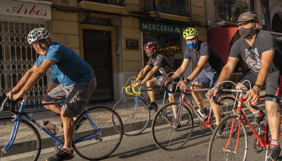 Va ser organitada pel Club Ciclista Oxid Restore.