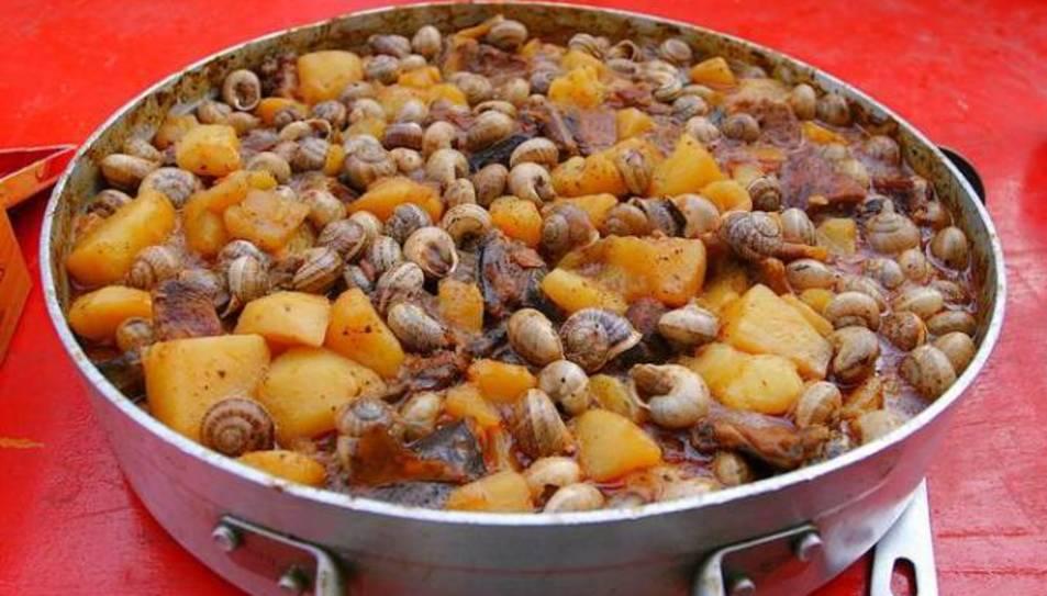 L'espineta amb caragolins és el plat més emblemàtic de les festes de Santa Tecla.