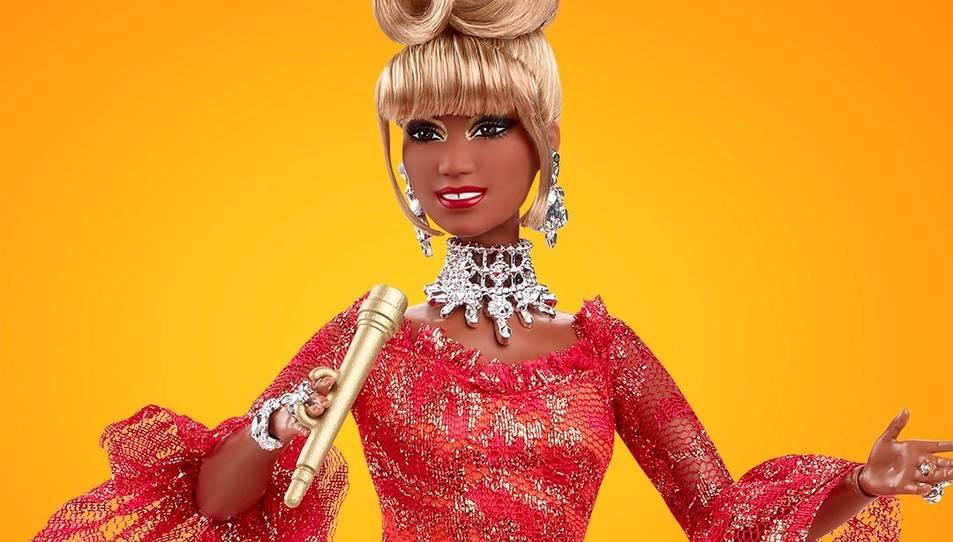 La Barbie de Celia Cruz.