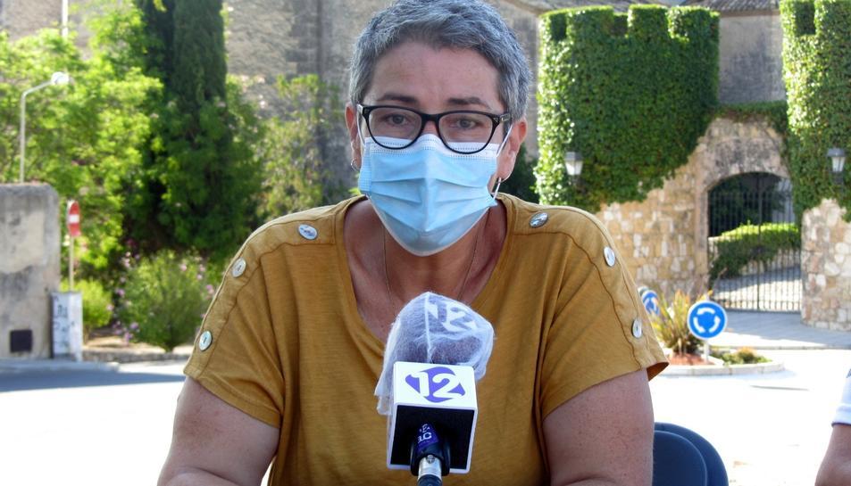 Natalia Sanz en una imatge d'arxiu.