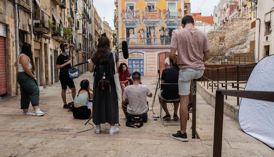 Les entrevistes s'han rodat en diferents localitzacions de Tarragona.