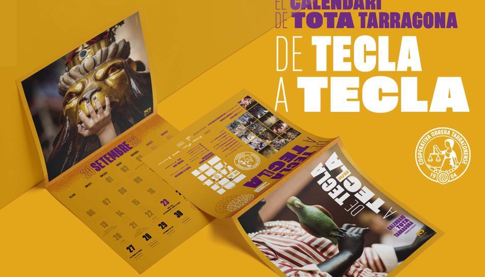 Imatge dels calendaris de Santa Tecla.