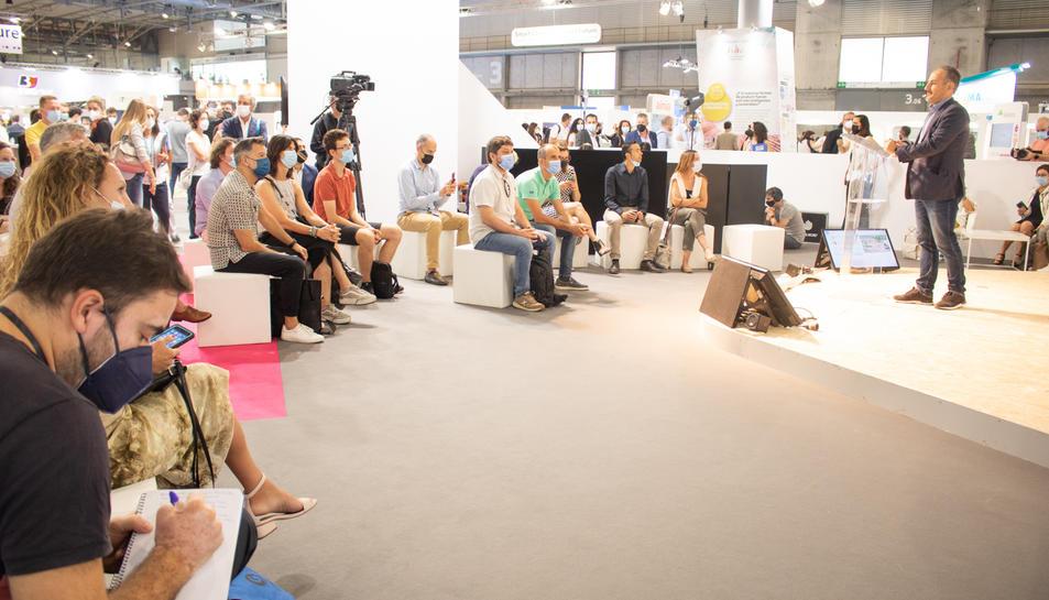 Un dels moments a Expoquimia.