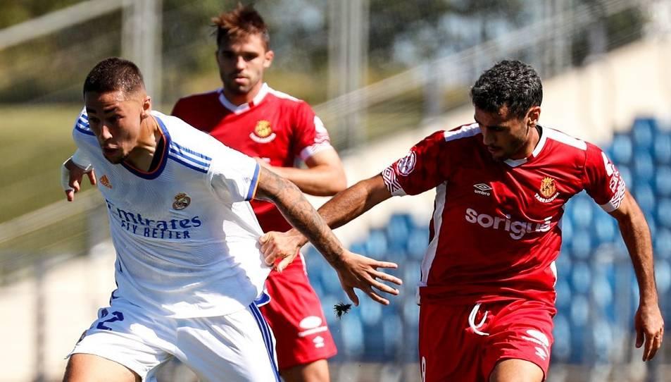 El Castilla s'avança al marcador amb un gol d'Aranda