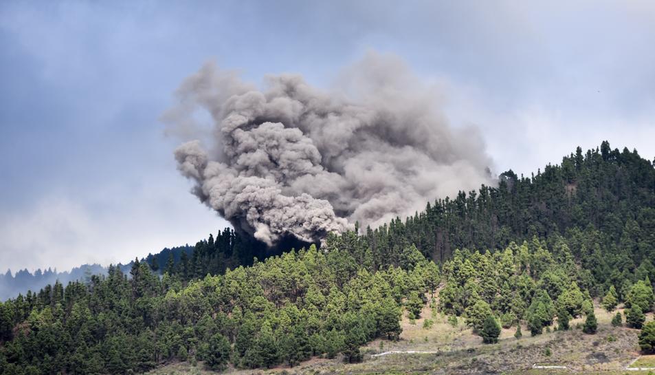 L'erupció volcànica a La Palma