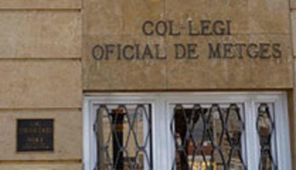 Imatge d'arxiu del Col·legi de Metges de Tarragona.