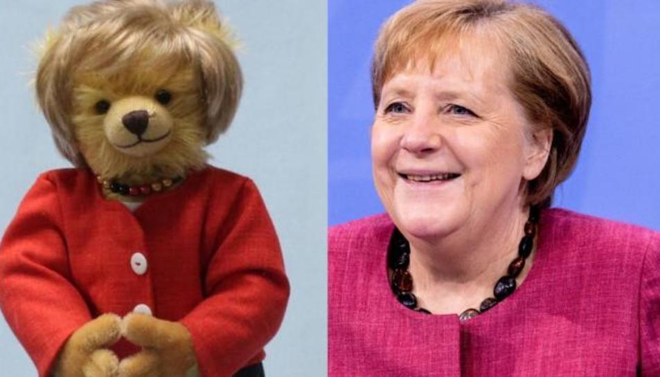 El peluix i Merkel.