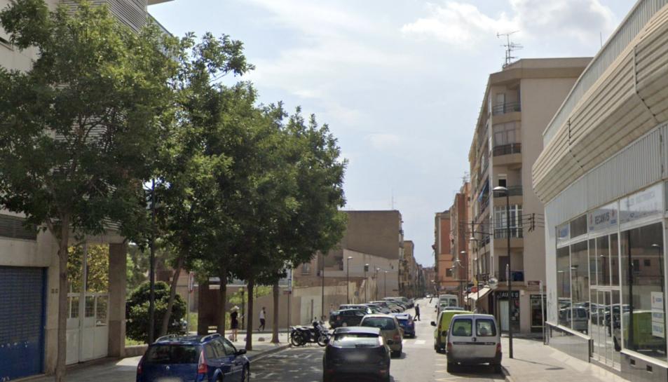 Imatge d'arxiu del carrer del Roser.