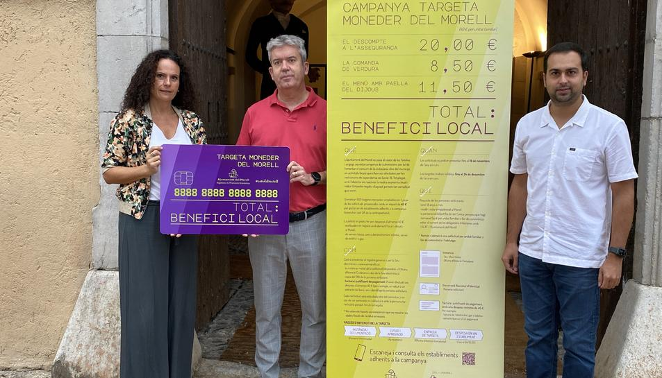 Imatge de la presentació de la campanya.