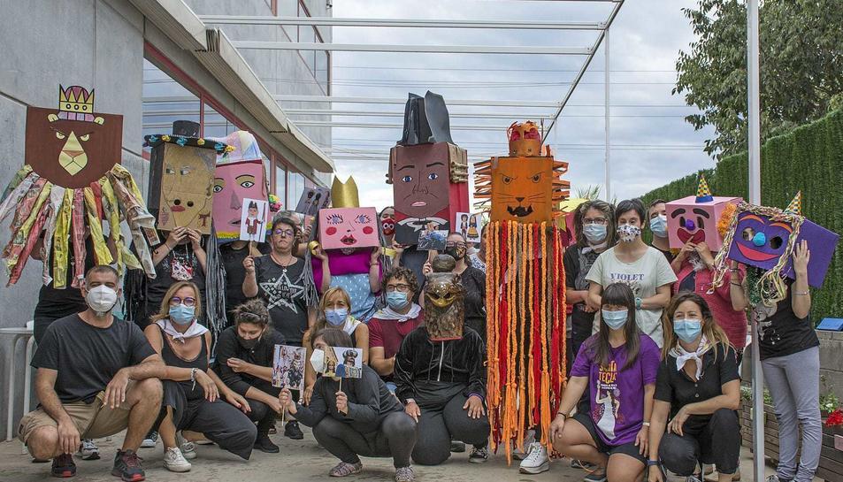 Imatge dels participants al Seguici.