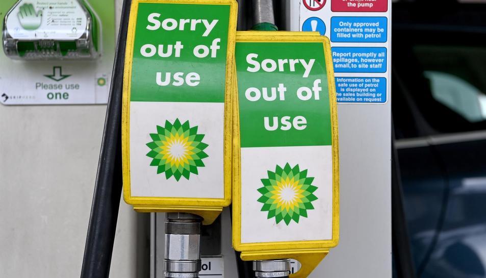 Els assortidors de BP que es troben fora de servei.