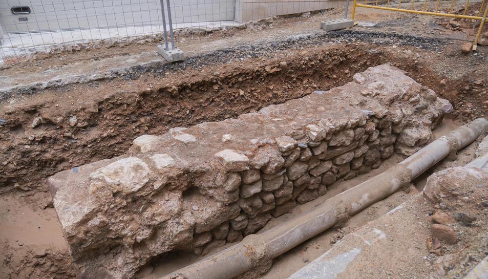 Les restes trobades a la torre del Mussol.