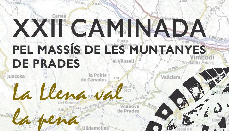 La caminada pel Massís de les Muntanyes de Prades arriba a la XXII edició