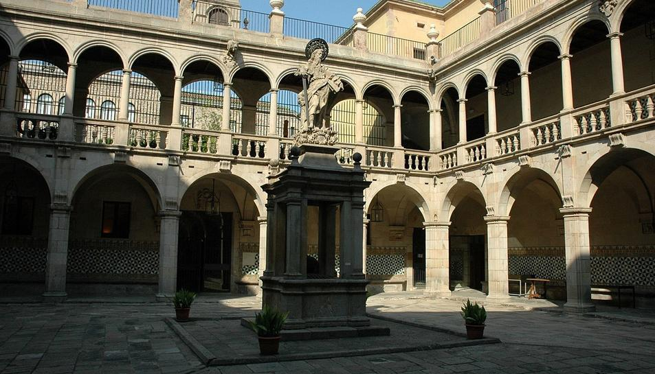 Seu de l'Institut d'Estudis Catalans.