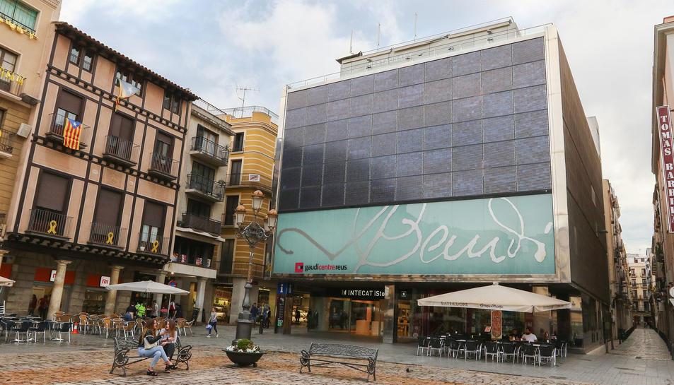Imatge d'arxiu del Gaudí Centre, on es troba situat el local de restauració licitat novament ara.