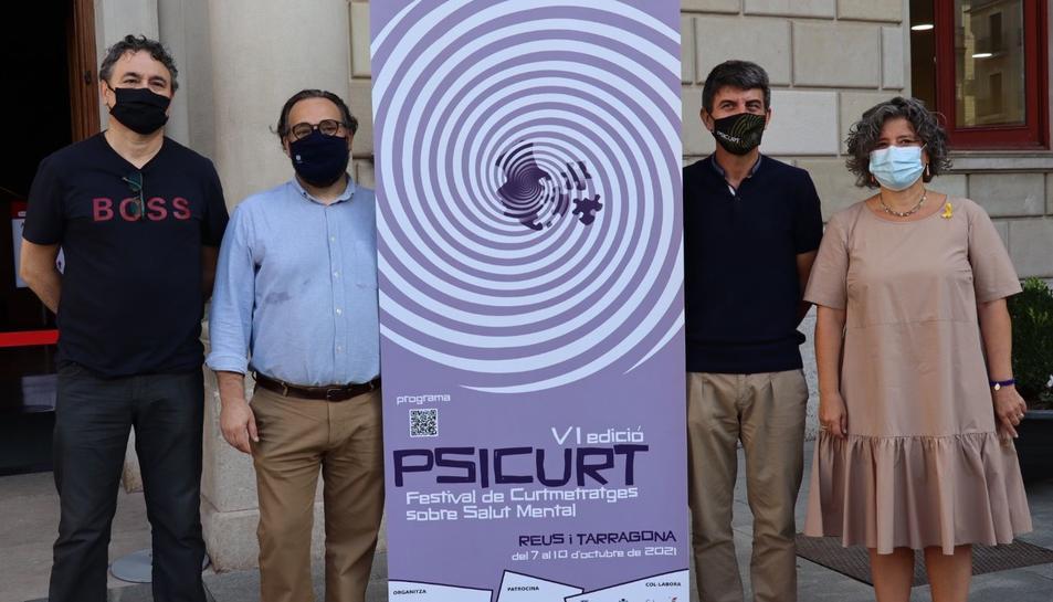 Presentació a Reus de la 6a edició de Psicurt.