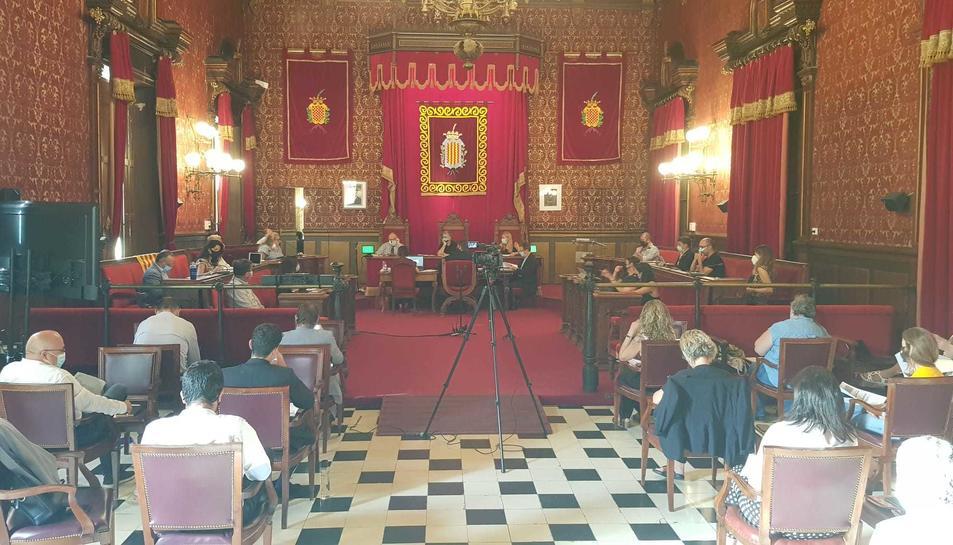 L'Ajuntament ha recuperat els plenaris presencials.