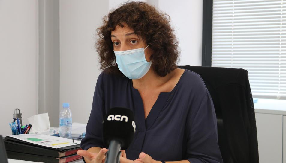 La directora del Servei Català de la Salut, Gemma Craywinckel.