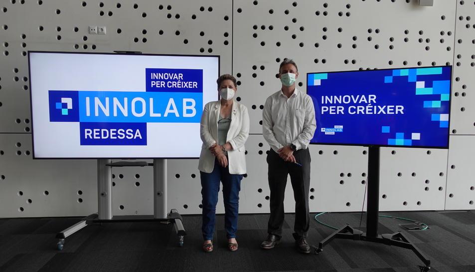 Imatge de la presentació de l'Innolab.