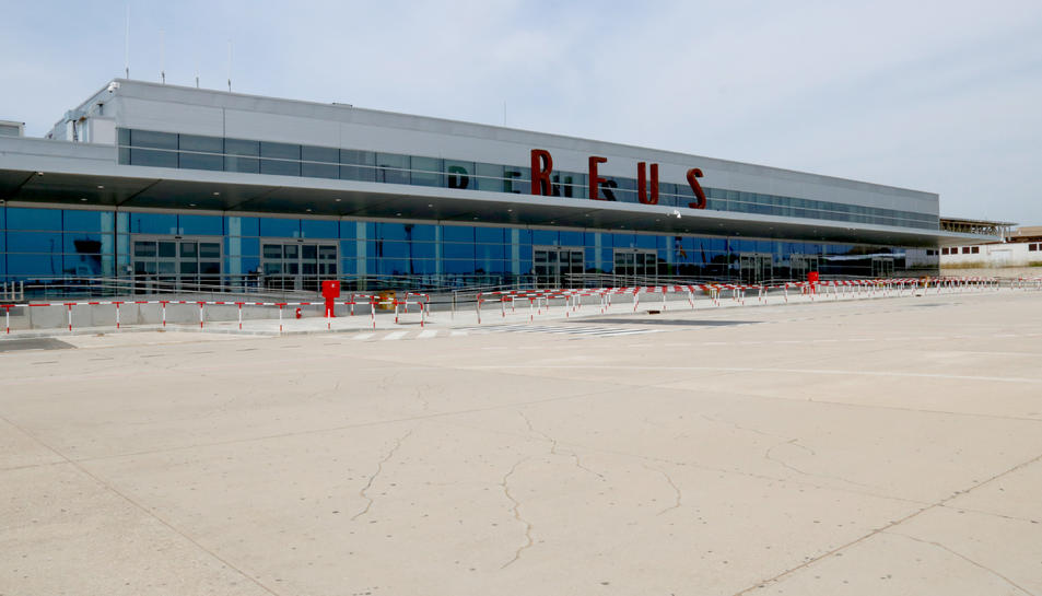 La nova plataforma de l'Aeroport de Reus, l'ampliació de la qual ha costat 12 milions d'euros