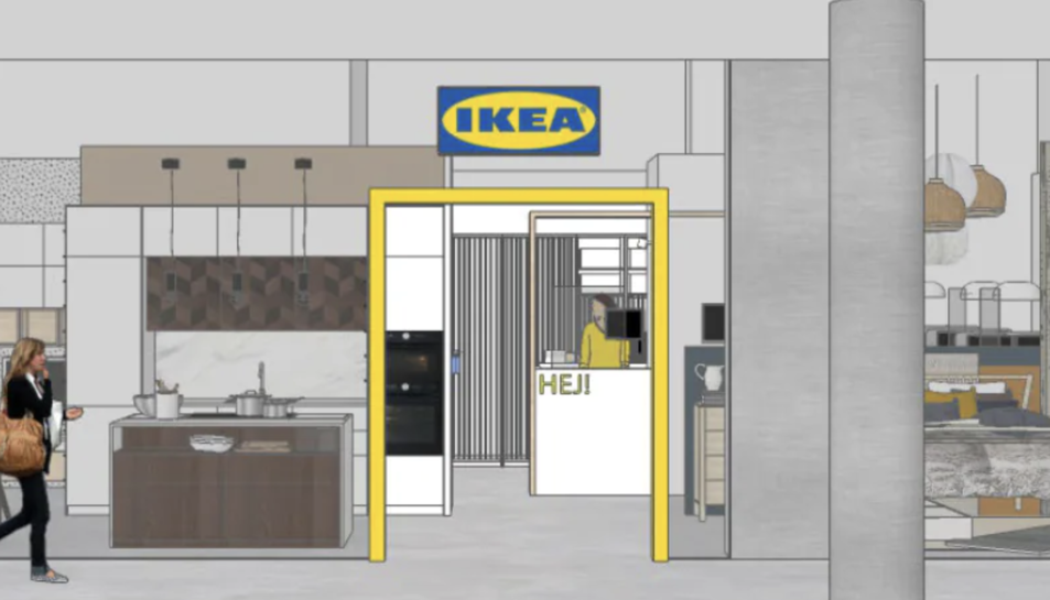 Així serà la nova botiga.